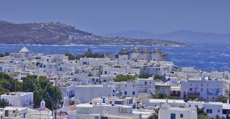 Day Trip from Naxos to Mykonos Island with 6-Hours Free Time