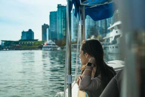 Vancouver: Electric Boat Tour of Coal Harbor