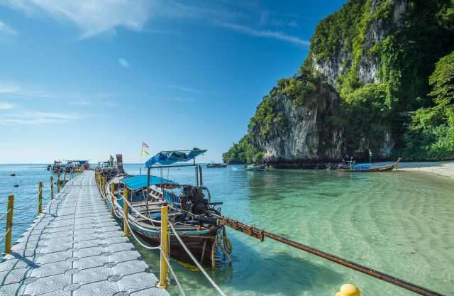 Krabi: Hong Islands Snorkeling with Lunch by Longtail Boat