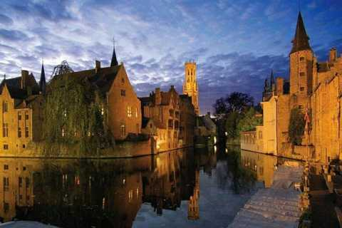 Bruges: Full-Day Guided Tour from Brussels in English