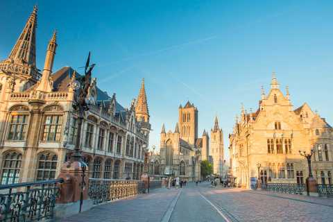 Ghent: Full-Day Guided Tour in English from Brussels