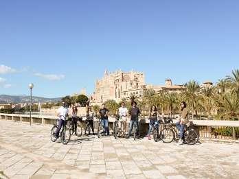 Palma de Mallorca: Fahrradtour & Tapas in der Altstadt