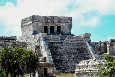Tulum, Coba & Snorkeling in a Reef with Transfer Options