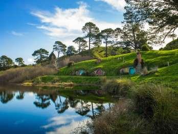 Ab Auckland: Tagesausflug zu Hobbingen und Waitomo Caves mit Mittagessen. Foto: GetYourGuide