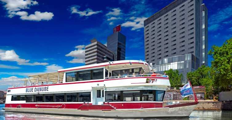 Vienna: giro panoramico in barca con pranzo