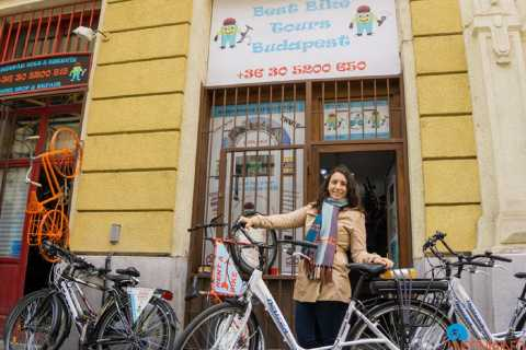 Budapest: Geführte E-Bike-Tour und Burgviertel