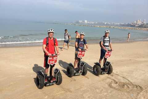 Cádiz por la playa en Segway