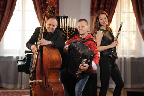 Cracóvia: Concerto de Música Klezmer de Estilo Judaico