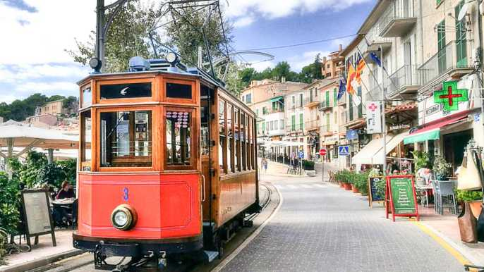 Mallorca: Island Tour with Boat & Train Ride from the South