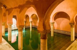 Granada: Hammam Al Ándalus mit optionaler Massage