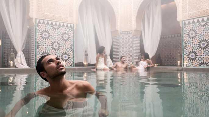 Hammam Al Ándalus Málaga: Baño Relajante