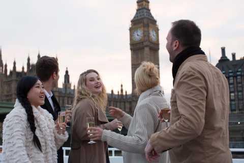 Londres: crucero en el Támesis al atardecer con champán