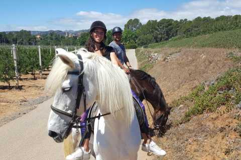 Costa Dorada: Horse Riding and Walking Tour
