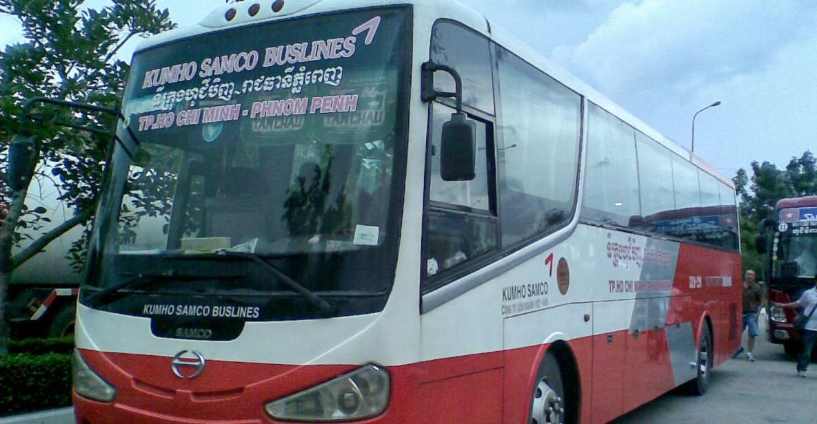 Billete de ida en autobús de Ho Chi Minh a Nom Pen