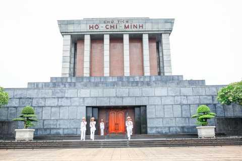 Prywatne półdniowe zwiedzanie miasta Hanoi: Mauzoleum, Świątynia i Pagoda