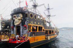 Viagem de barco pirata de Bodrum
