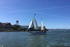 São Francisco: Excursão de barco à vela com bebidas