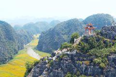 Excursão a Trang An, Hoa Lu e Caverna Mua com Almoço