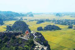 Hoa Lu, Tam Coc e Caverna Mua com Vistas - Tudo Incluído
