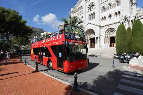 Monaco: Monte Carlo Hop-On Hop-Off Bus Tour