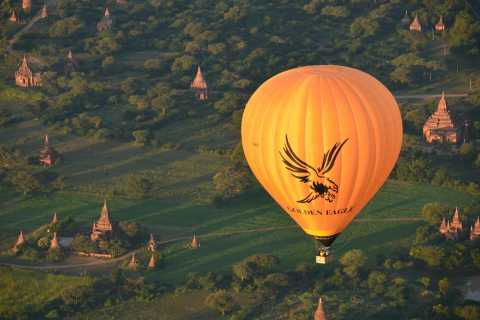 Golden Eagle Ballooning in Bagan