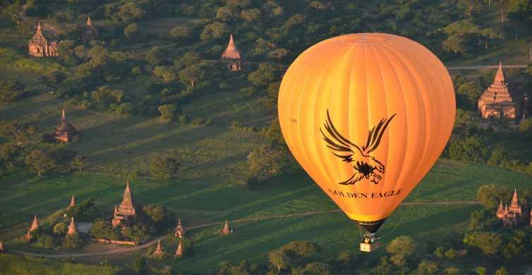 Golden Eagle Ballooning in Bagan