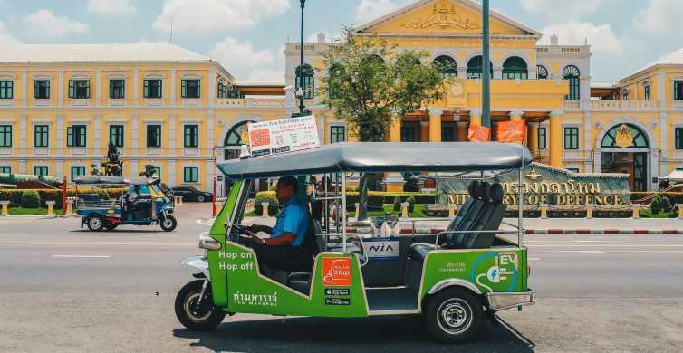 Hop On Hop Off: Tuk Tuk & Tourist Boat on Chao Phraya River