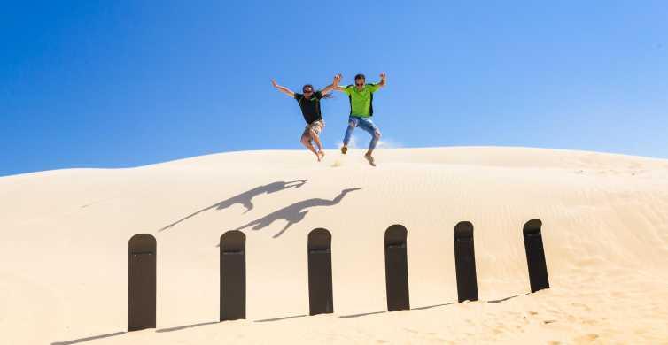 Port Stephens : sandboard illimité et 4x4 dans les dunes