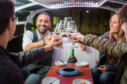 Zürich: Schweizer Käse-Fondue & Wein Tuk-Tuk Tour