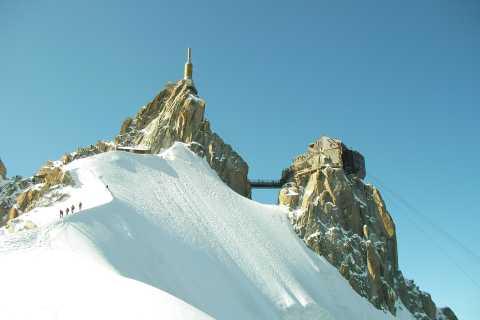 Chamonix: tour de 1 día en teleférico y tren desde Ginebra
