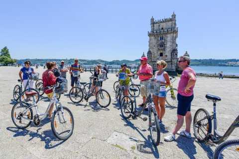 Lisbon: Riverside Light Bicycle Tour in Dutch