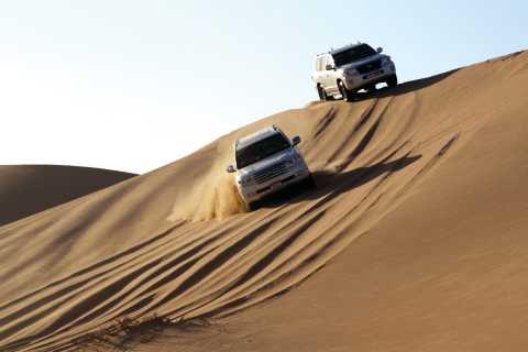 Safari en el desierto con cena de barbacoa, danza del vientre y danza Tannura