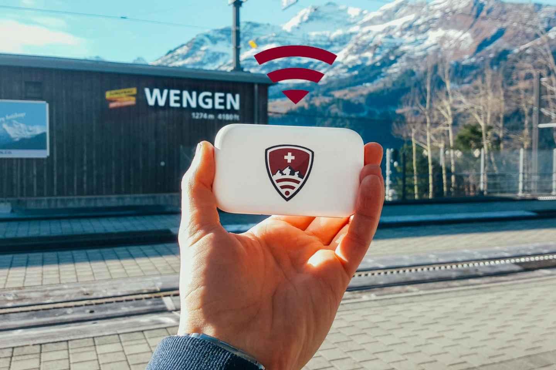 Touristeninfo Genf: Pocket-WLAN mit unbegrenzt 4G-Internet