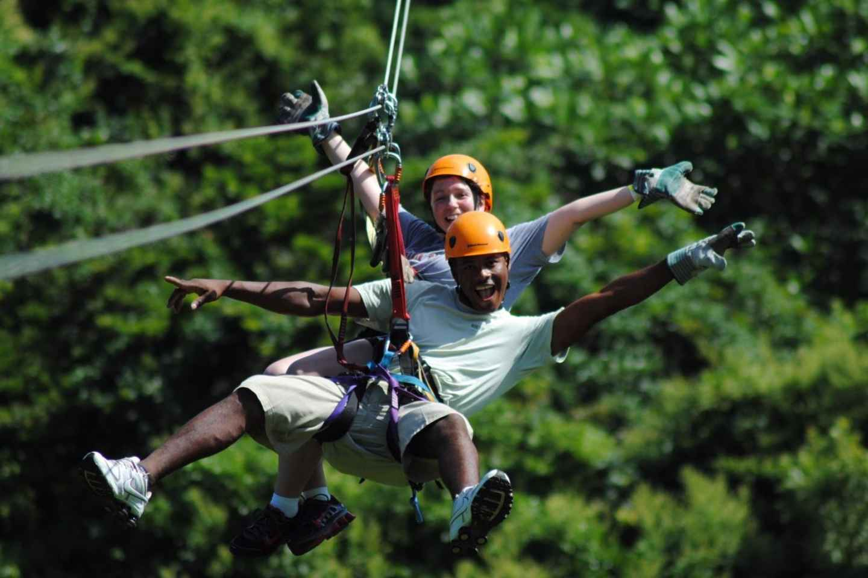 Köprülü: Canyoning, Rafting & Zipline-Abenteuer
