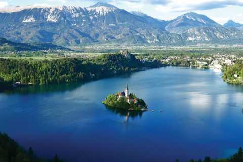 Zagreb: Rondleiding door het kasteel van Ljubljana en de rondleiding door de stad en het eiland Bled