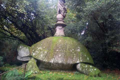 Bomarzo Park of the Monsters and Viterbo Old Town Tour