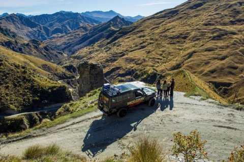 From Queenstown: Skippers Canyon 4-Wheel-Drive Tour