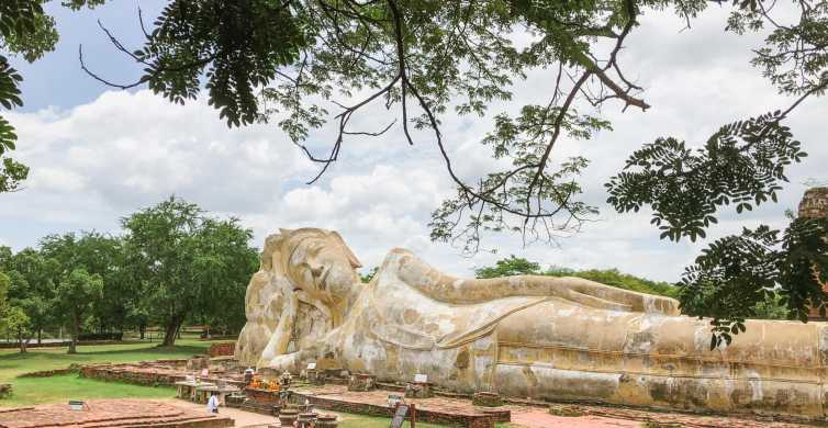 From Bangkok: Ayutthaya Day Tour by Bus & Boat