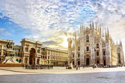 Milan: Private City Tour With Milan Cathedral & Terraces
