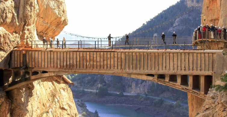 Malaga: Caminito del Rey Walkway Excursion with Transport