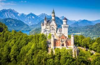 Ab München: Schloss Neuschwanstein & Linderhof Premium-Tour