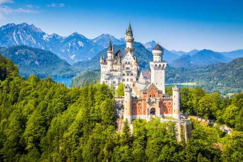 Munique: Tour Premium Castelo de Neuschwanstein e Linderhof