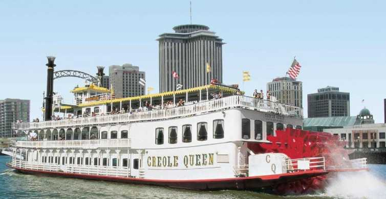 New Orleans: Creole Queen History Cruise with Optional Lunch