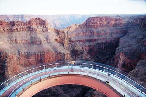 Grand Canyon lato ovest: Skywalk, elicottero e barche