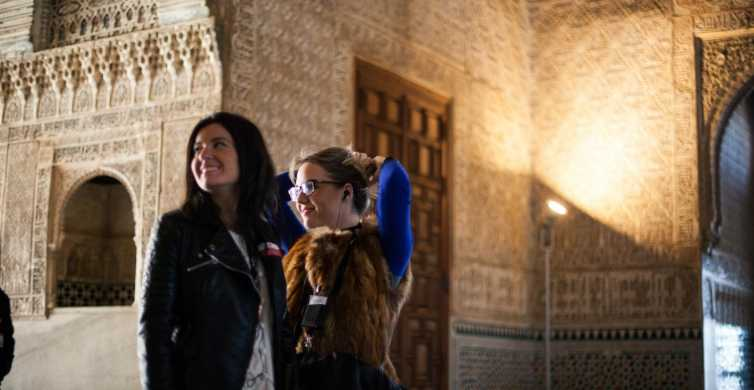 Alhambra and Nasrid Palaces through the Senses Private Tour