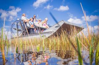 Everglades-Nationalpark: Airboat-Tour und Wildtier-Show