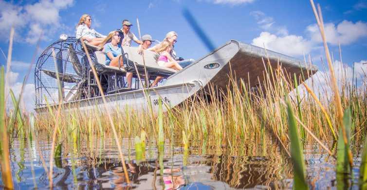 Everglades: tour in airboat e spettacolo faunistico