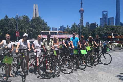 Shanghai: Full Day Classic Bike Tour With an Authentic Lunch