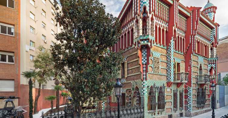 Barcelona: Gaudí's First House Tour with Priority Access