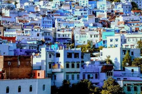 From Rabat: Chefchaouen Day Trip via the Rif Mountains